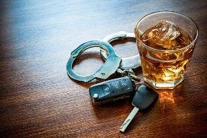 alcohol keys and cuffs